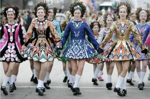 step dancers